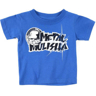 tričko dětské ( chlapecké )  METAL MULISHA - COLAB - BLU