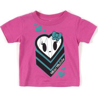 tričko dětské  ( dívčí ) - METAL MULISHA -  HALIE HEART - PIN