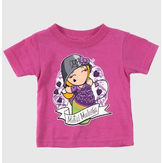 tričko dětské  (dívčí ) METAL MULISHA - CUPCAKE, METAL MULISHA