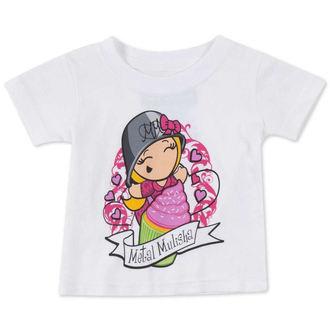 tričko dětské  (dívčí ) METAL MULISHA - CUPCAKE - WHT