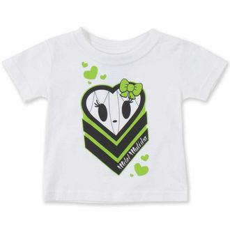 tričko dětské (dívčí ) METAL MULISHA  - HALIE HEART - WHT