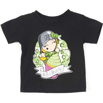 tričko dětské  (dívčí )  METAL MULISHA - CUPCAKE - BLK