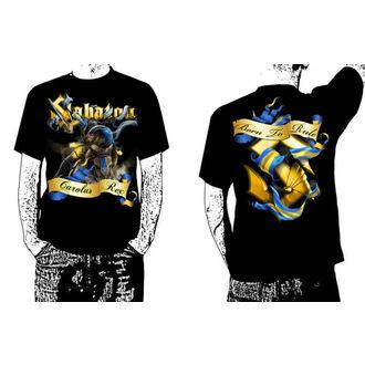 tričko pánské Sabaton - Carolus Rex - Black - CARTON - K 389