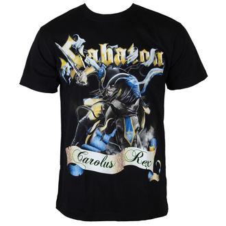 tričko pánské Sabaton - Carolus Rex - Black - CARTON, CARTON, Sabaton