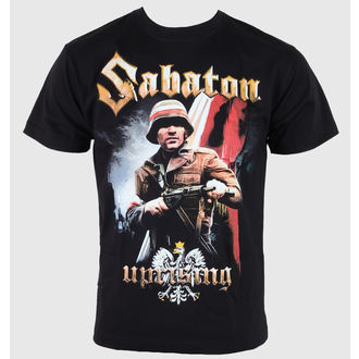 tričko pánské Sabaton - Uprising - Black - CARTON, CARTON, Sabaton