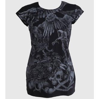 tričko dámské (tunika) ALISTAR - Crow, ALISTAR