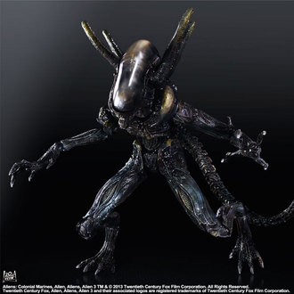 figurka Aliens (Vetřelec) - Colonial Marine Play Arts Kai Lurker - SQE32003