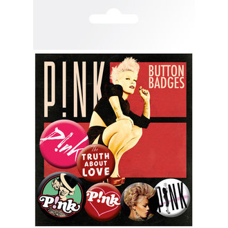 placky Pink - The Truth About Love (Bravado), GB posters, Pink