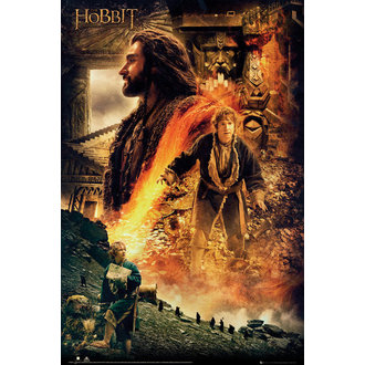 plakát Hobit - Desolation of Smaug Fire - GB posters