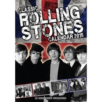 kalendář na rok 2015 ROLLING STONES, NNM, Rolling Stones