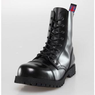 boty NEVERMIND - 8 dírkové - Black Polido, NEVERMIND