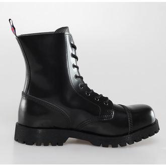 boty NEVERMIND - 8 dírkové - Black Polido
