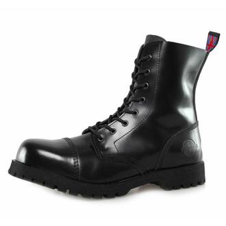 boty NEVERMIND - 8 dírkové - Black Polido - 10108S