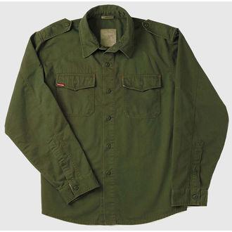 košile pánská ROTHCO - VINTAGE BDU - OLIVE DRAB - 2568