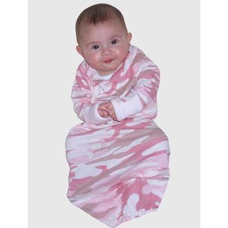 overal na spaní dětský ROTHCO - INFANT PC - PINK CAMO - 67159