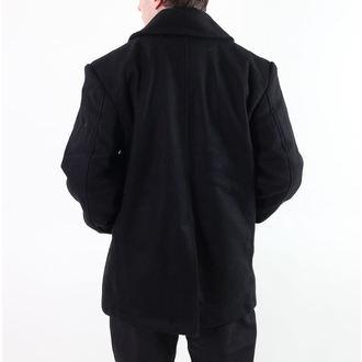 kabát pánský ROTHCO - PEA COAT - BLACK, ROTHCO
