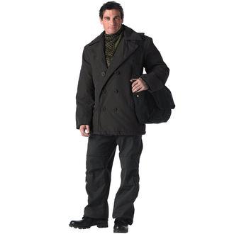 kabát zimní ROTHCO - PEA COAT- BLACK, ROTHCO