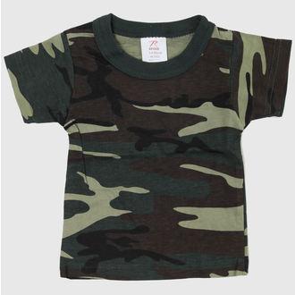 tričko dětské ROTHCO - WOODLAND CAMO