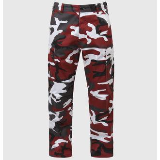 kalhoty pánské ROTHCO - BDU PANT - RED CAMO - 7915