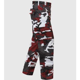 kalhoty pánské ROTHCO - BDU PANT - RED CAMO, ROTHCO