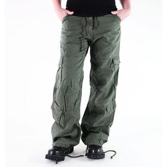 kalhoty dámské ROTHCO - VINTAGE PARATROOPER - FATIGUES OD, ROTHCO