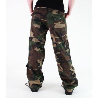 kalhoty dámské ROTHCO - VINTAGE PARATROOPER - FATIGUES CAMO