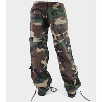 kalhoty dámské ROTHCO - VINTAGE PARATROOPER - FATIGUES CAMO - 3386