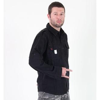 košile pánská ROTHCO - VINTAGE BDU - BLACK, ROTHCO