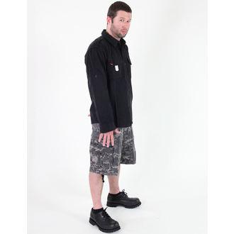 košile pánská ROTHCO - VINTAGE BDU - BLACK - 2457