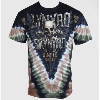 tričko pánské Lynyrd Skynyrd - Simple Man - LIQUID BLUE, LIQUID BLUE, Lynyrd Skynyrd