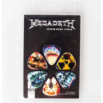 trsátka Megadeth - PERRIS LEATHERS, PERRIS LEATHERS, Megadeth