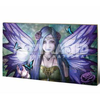 dřevěný obraz Anne Stokes - Mystic Aura - PYRAMID POSTERS, ANNE STOKES