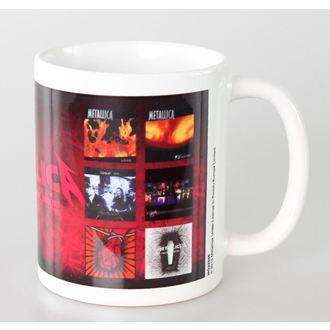 hrnek Metallica - Albums - PYRAMID POSTERS, PYRAMID POSTERS, Metallica