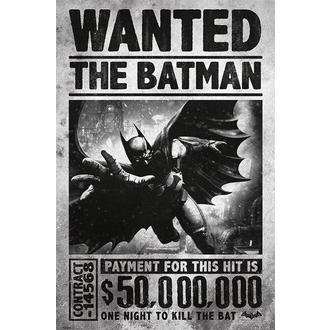 plakát Batman - Arkham Origins (Wanted) - PYRAMID POSTERS - PP33251