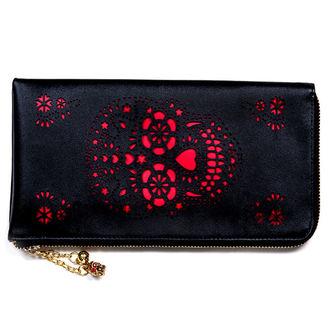 peněženka (psaníčko) BANNED - Cut Skull - Black - WBN1416BL