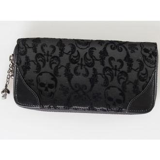 peněženka BANNED - Ribcage Lace - Black