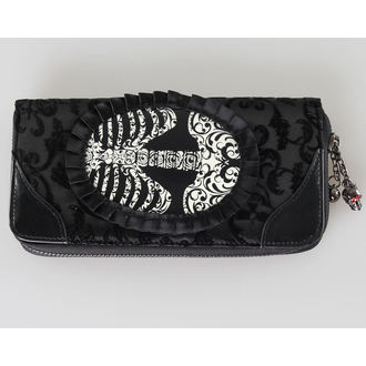 peněženka BANNED - Ribcage Lace - Black, BANNED