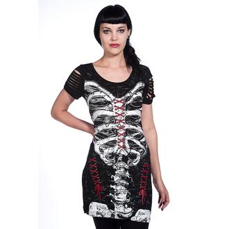 šaty dámské (tunika) BANNED - Corset Skeleton