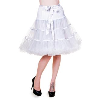 sukně dámská (spodnička) BANNED - Petticoat Ribbon - White, BANNED