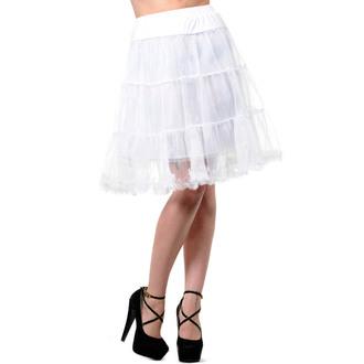 sukně dámská (spodnička) BANNED - Calf Length - Petticoat White, BANNED