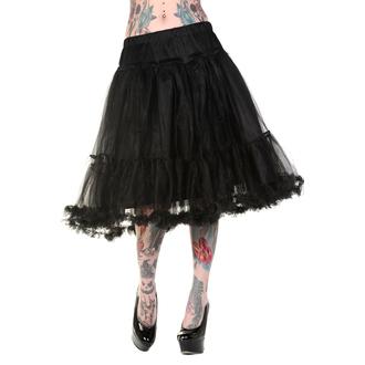 sukně dámská (spodnička) BANNED - Petticoat Black