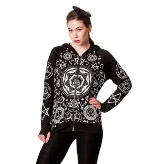 mikina dámská BANNED - Pentagram -  Black - HBN044