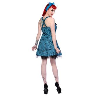 šaty dámské BANNED - Blue Skull Roses