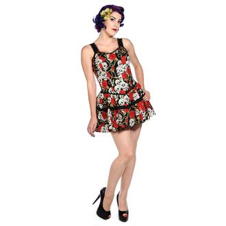 šaty dámské BANNED - Skull Roses