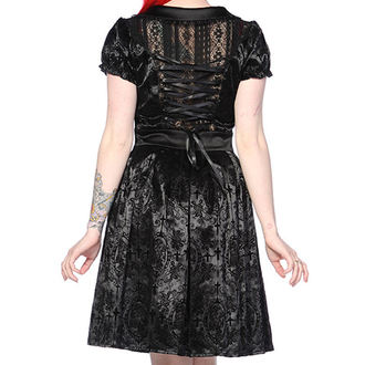 šaty dámské BANNED - Black Ivy Cross Gothic, BANNED