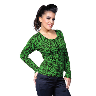 svetr dámský BANNED - Green Leopard, BANNED