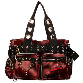 taška,kabelka BANNED - Handcuff - Red, BANNED