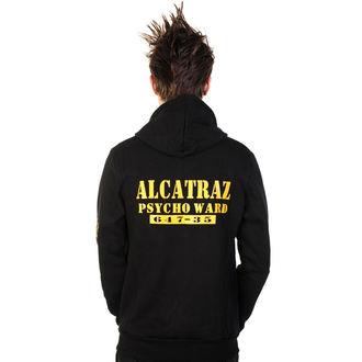 mikina pánská BANNED - Alcatraz - Black, BANNED