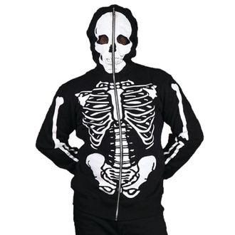 mikina pánská BANNED - Skeleton - Black