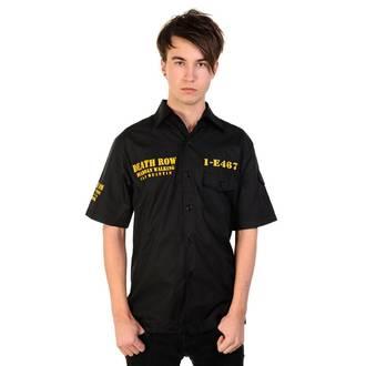 košile pánská BANNED - Death Row - Black, BANNED